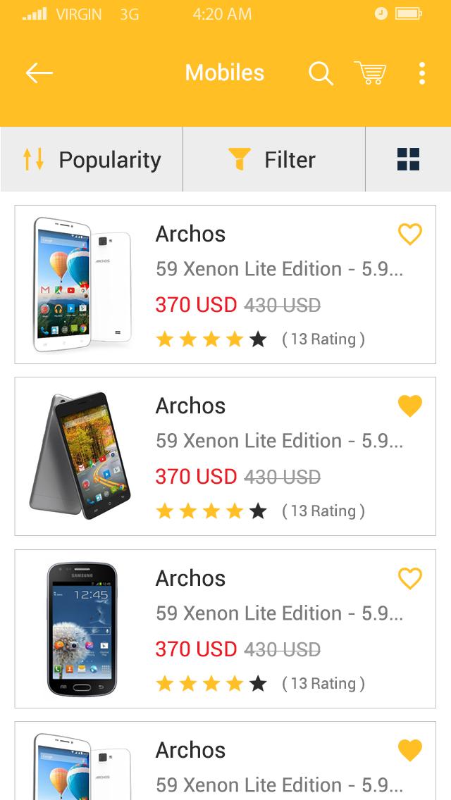 Egy Mall-ionic app theme