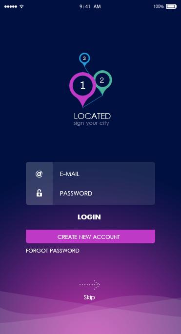 Location-ionic app theme