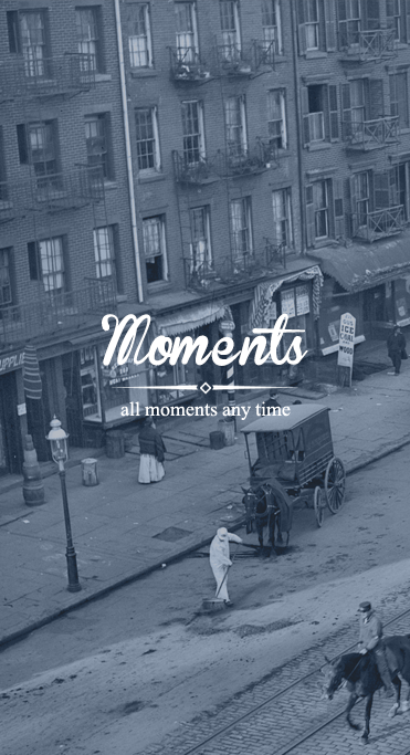 Moments-ionic app theme