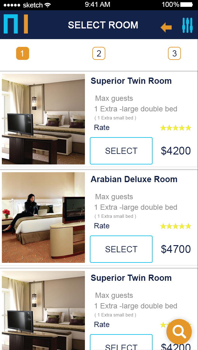 Motel-ionic app theme