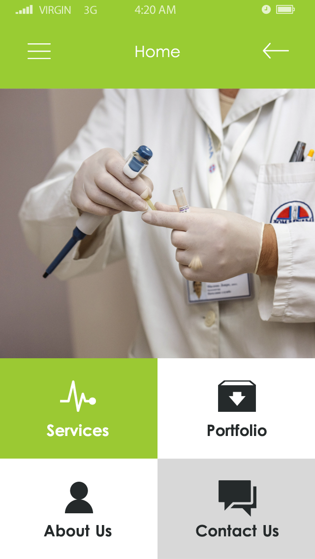 Clinic-ionic app theme