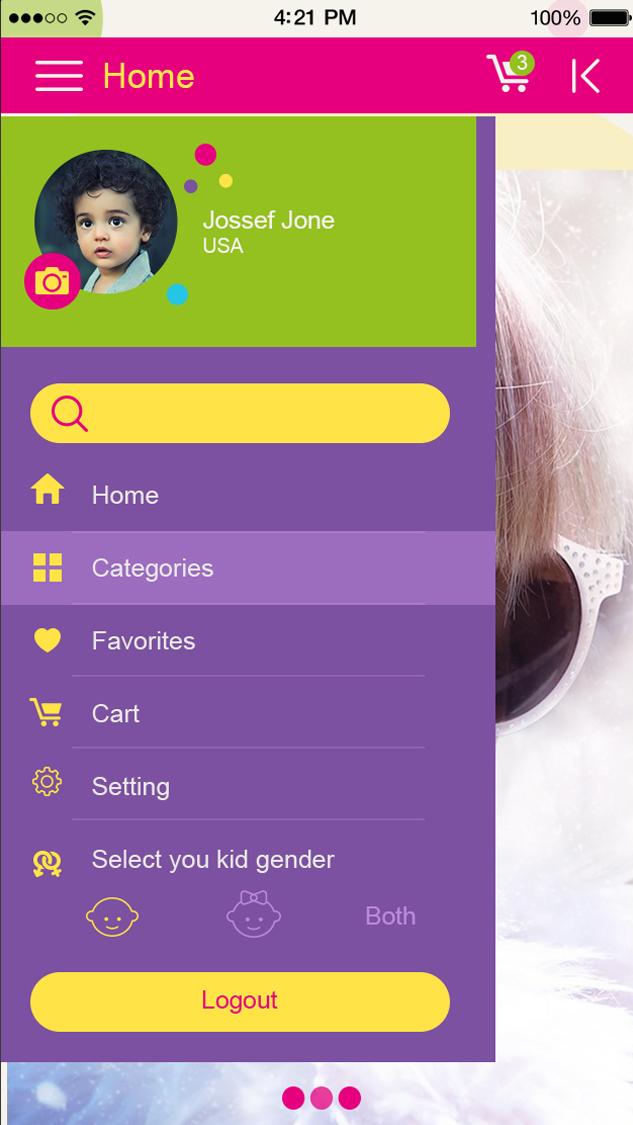 Kids-ionic app theme
