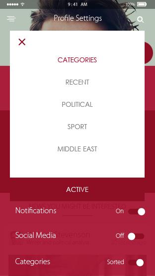 Bolt-ionic app theme