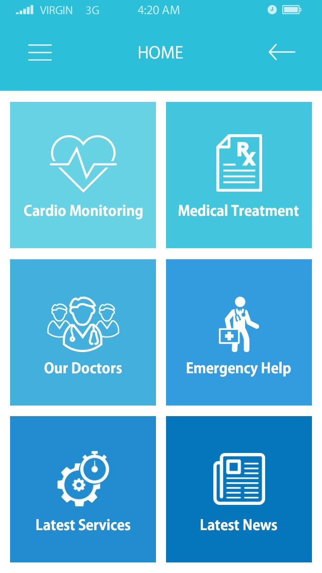 Medicare -ionic app theme