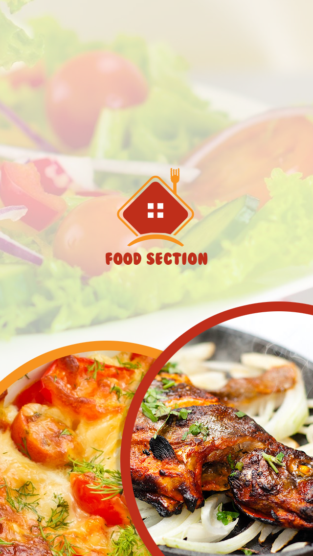 Food Section-ionic app theme