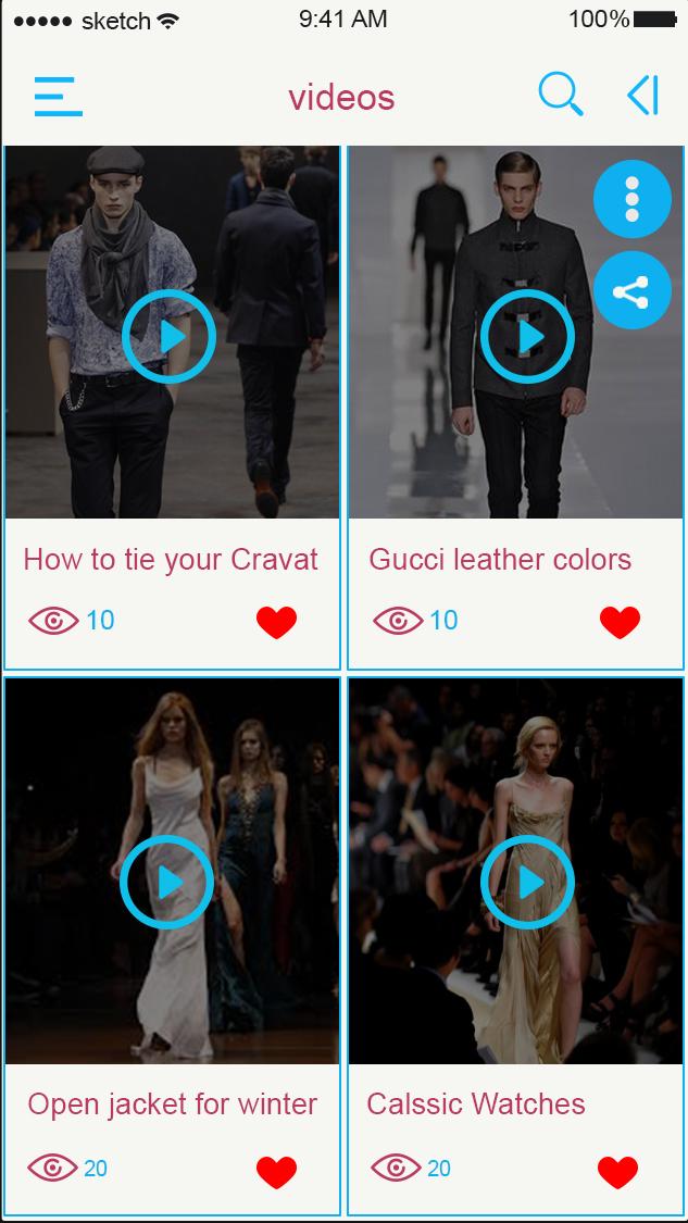 Fashion-ionic app theme
