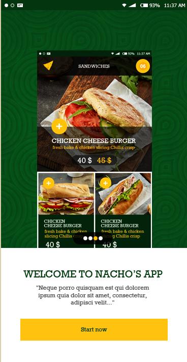 Nachos-ionic app theme