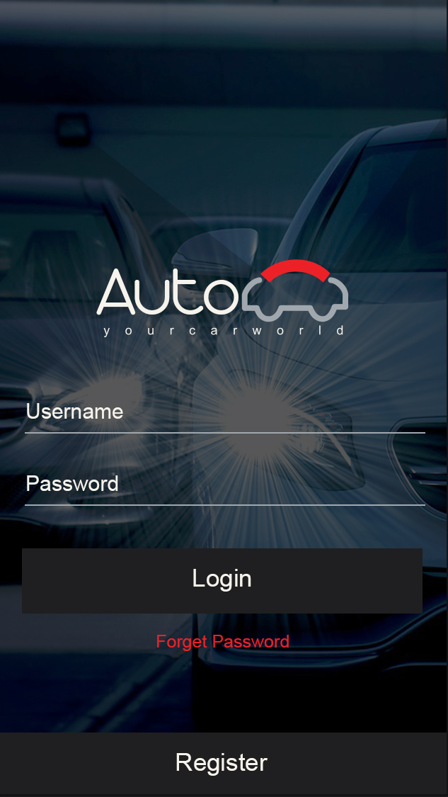 Auto cars-ionic app theme