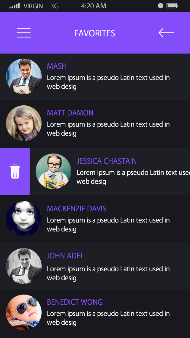 Chat Me-ionic app theme