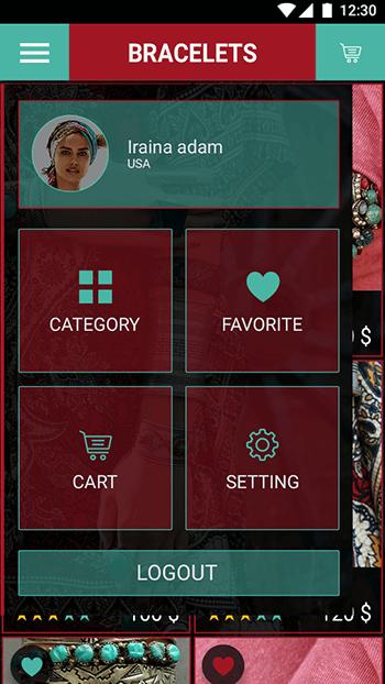 Bohemian-ionic app theme