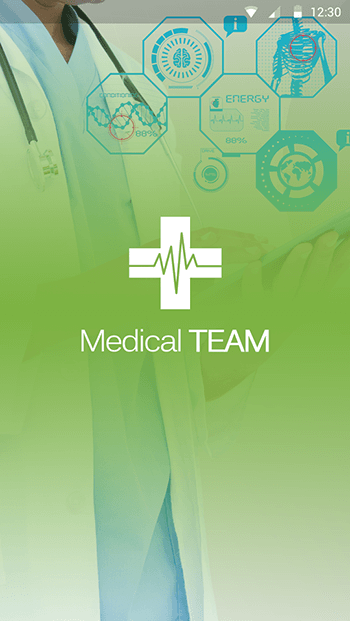 Medical Team-ionic app theme