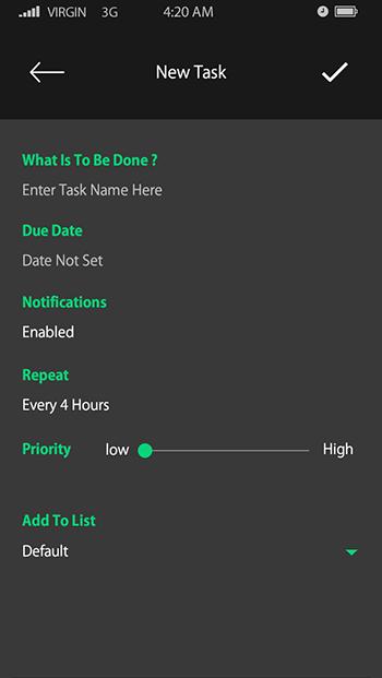 Agenda-ionic app theme