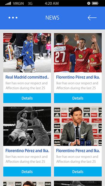 Sports App-ionic app theme