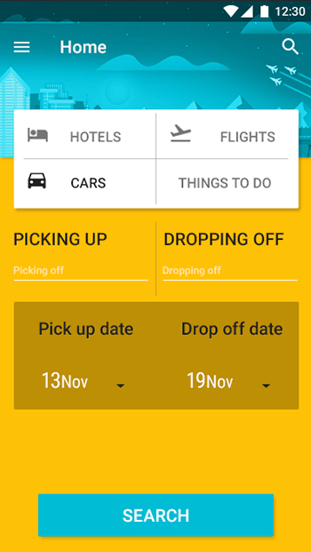 Im Tourist 2- ionic 3 booking -ionic app theme