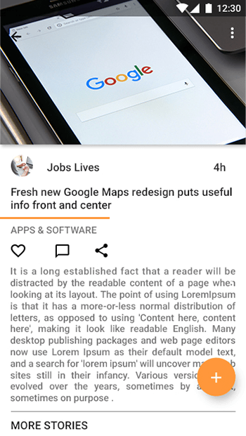 My Papers-ionic app theme