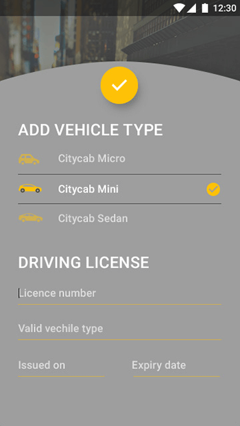 Taxi.Driver-ionic app theme