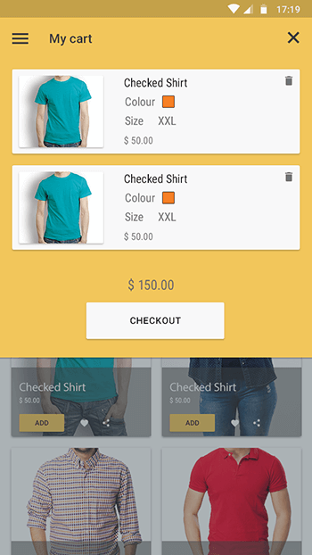 My Fashion-ionic app theme