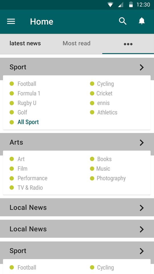 List Detail Comment -ionic app theme