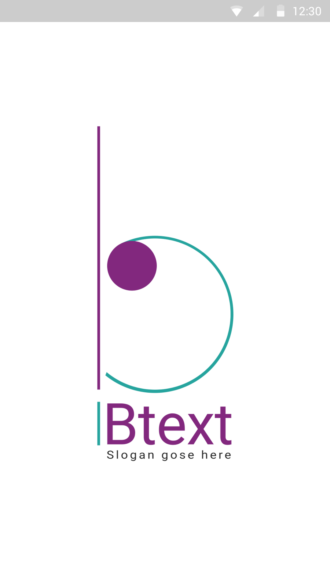 B-logo-ionic app theme