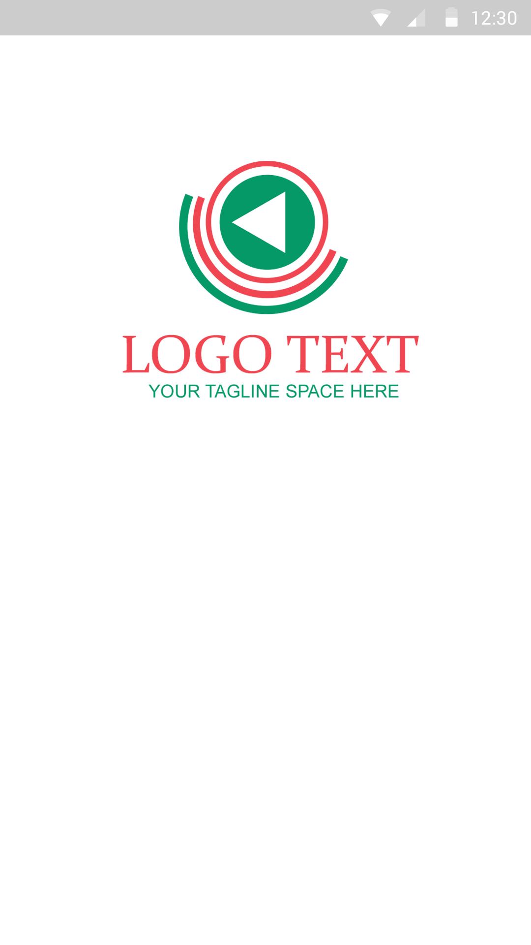 Media Logo-ionic app theme