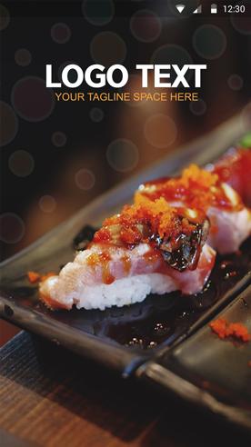 Food Splash-ionic app theme