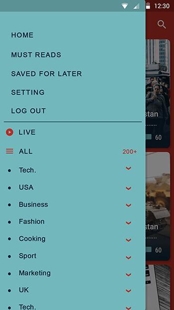 INF News-ionic app theme