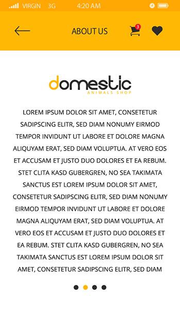 Domestic-ionic app theme