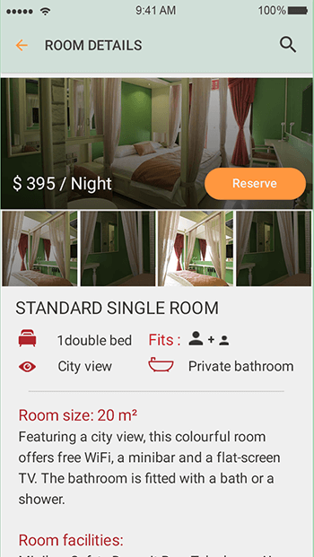 Look 4 Hotels-ionic app theme