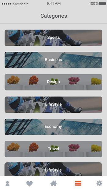 Last Report-ionic app theme