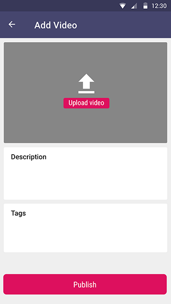 IVIDEO-ionic app theme