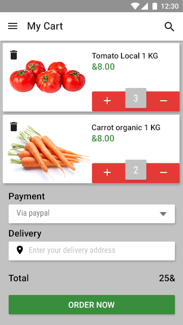 new market- app theme for online grocery-ionic app theme