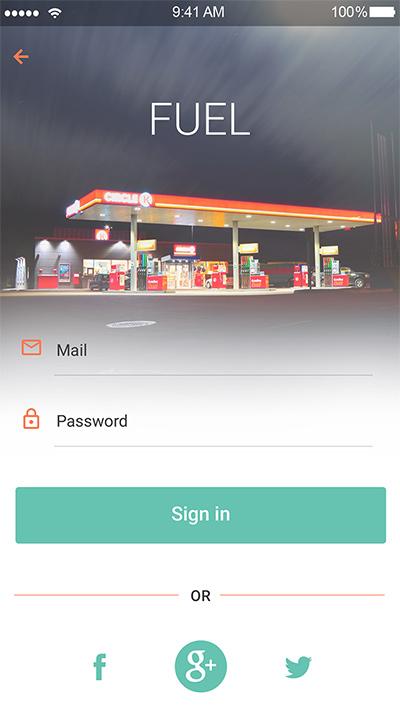 Fuel -ionic app theme