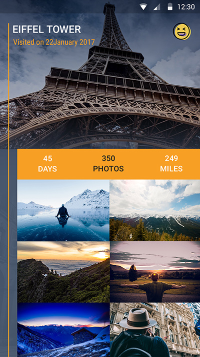 visitoapp-ionic app theme
