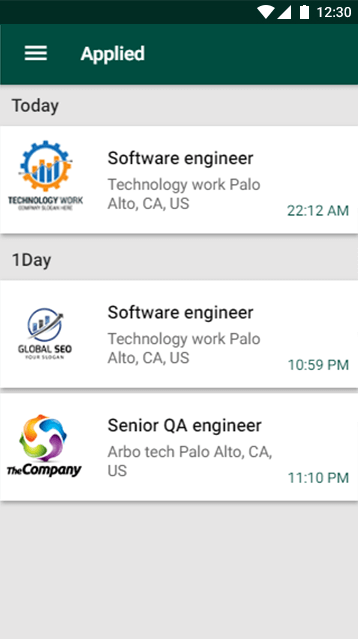 Jobs-ionic app theme