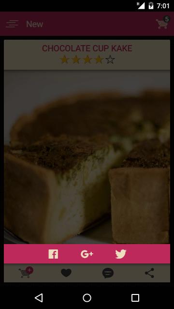 Bakery- app template-ionic app theme