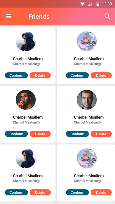 Mamo-ionic app theme