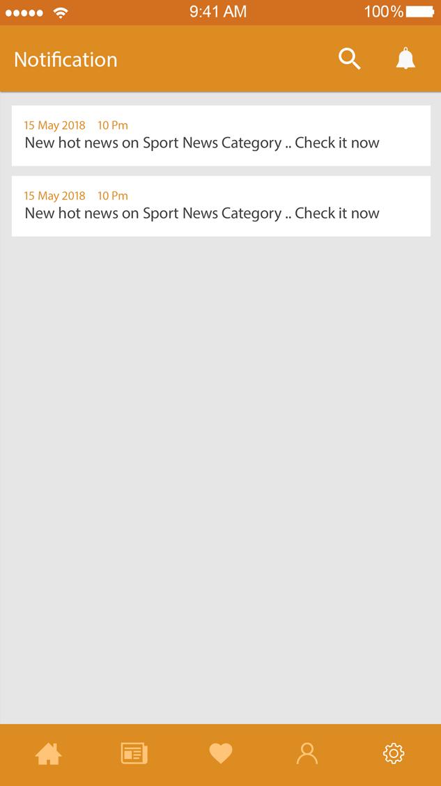 Now Report -ionic app theme