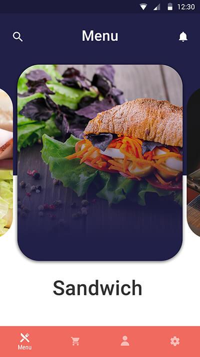 Eat -ionic app theme