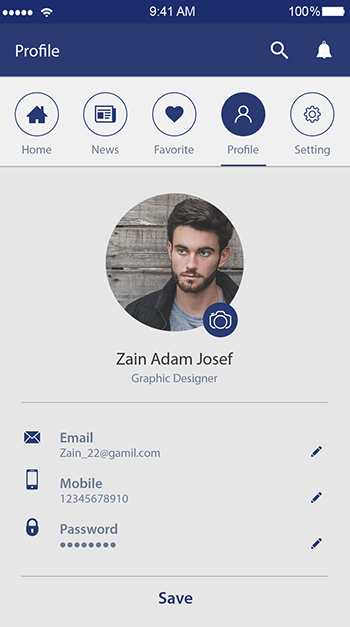 Tip News-ionic app theme