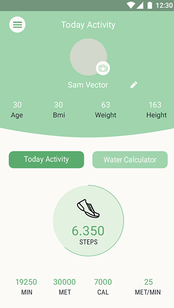 Health & Fit-ionic app theme