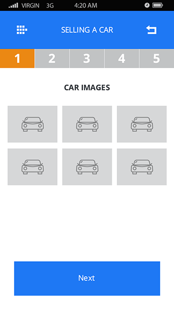 Gear Box- ionic 3 template for car trading and rent-ionic app theme