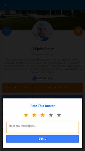 Find A doctor .. ionic 4 Theme-ionic app theme