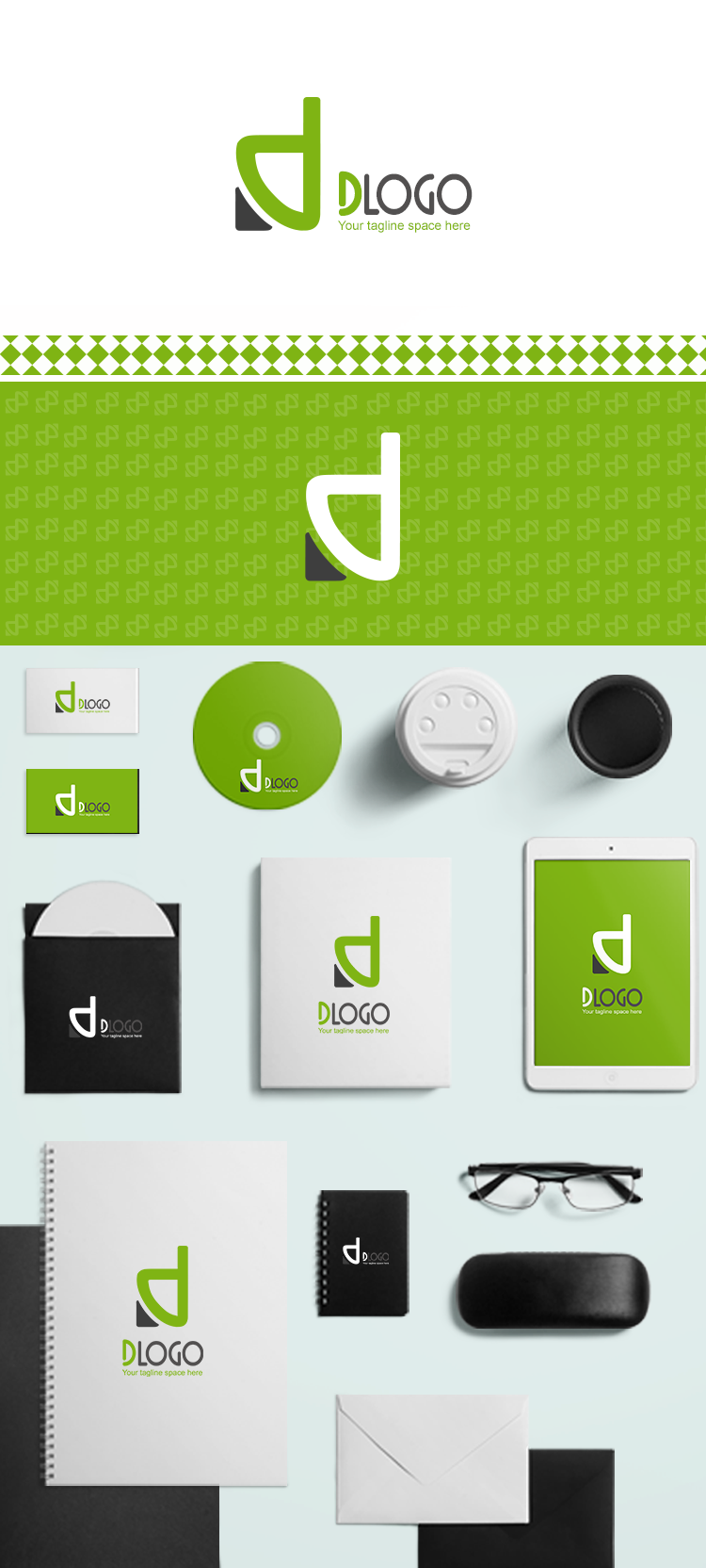 D Logo-ionic app theme