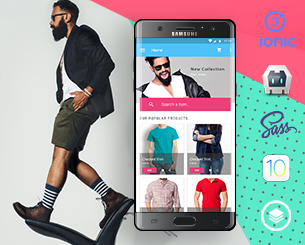 Fashion v2-ionic app theme