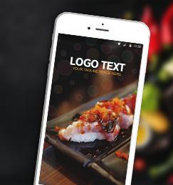 Food Splash ionic app theme