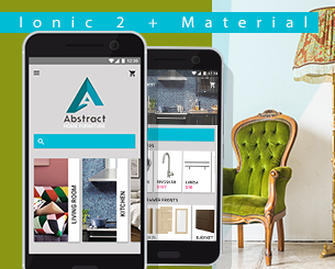 Abstract Home Furniture ionic app theme