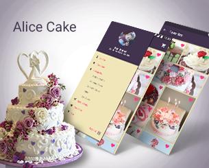 Alice Cake ionic app theme