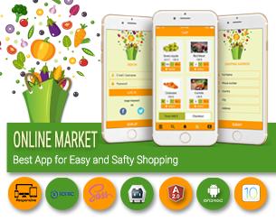 Market-ionic app theme