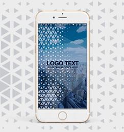 Digital splash ionic app theme