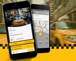 Taxi.Driver ionic app theme